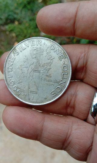 Liberty silver 1 ounce