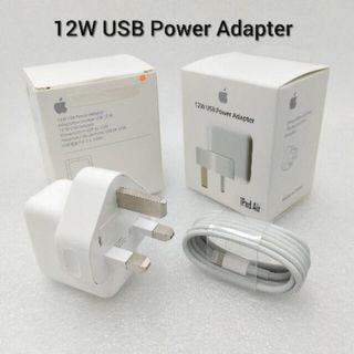 Combo : Original 12w adapter + cable 1m