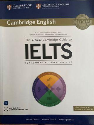 IELTS Academic and General Training books