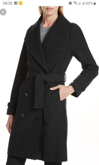Burberry wool double breast coat