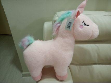 Light Pink Unicorn soft toy plushy