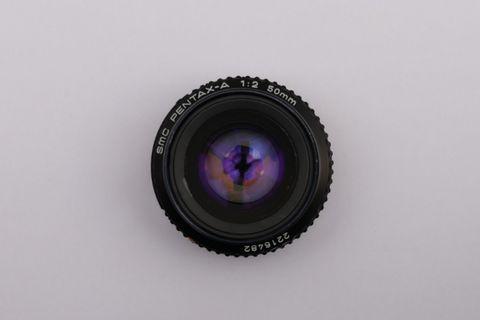 SMC Pentax-A 50mm f2.0 K mount