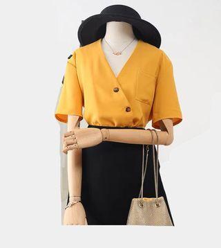 Woman Stylish Quality Yellow Top