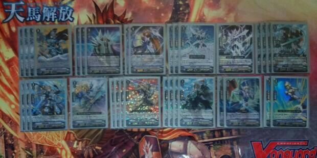 (WTS) Full Build Standard Royal Paladin Deck with 1 SVR
