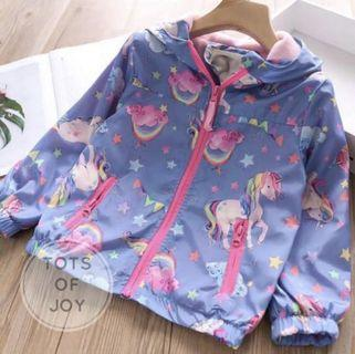 Unicorn fleece jacket