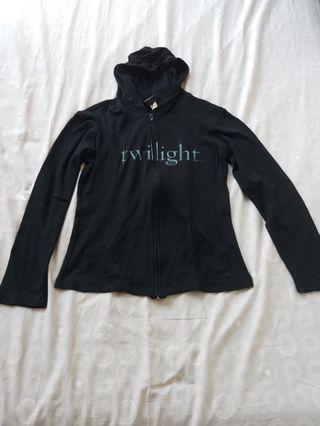 Jaket wanita / atasan blouse top outer blazer cardigan shirt black white putih hitam