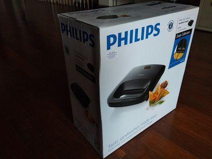 PHILIPS DAILY COLLECTION SANDWICH MAKER (820W)