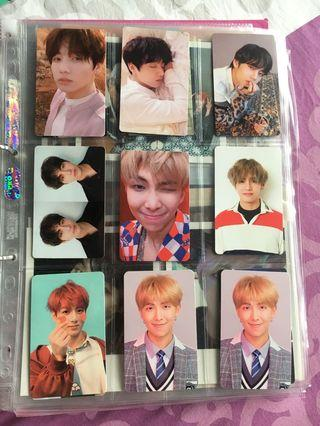 WTS Official BTS Album Photocards [Price REDUCED]