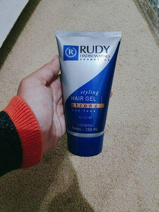 RUDY HAIR GEL STRONG wet look