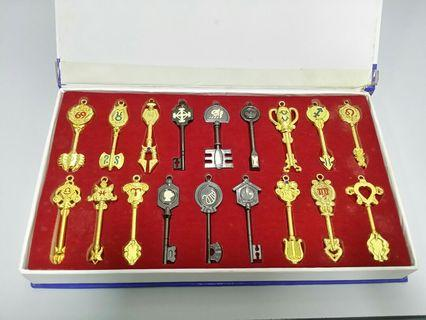 Fairy tail celestial keys
