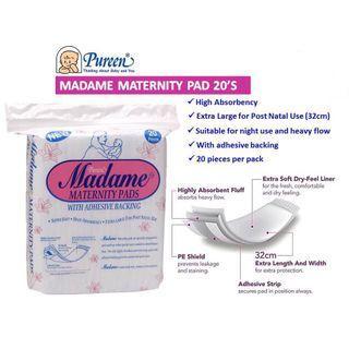 Pureen Madame Maternity Pads 20's