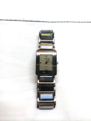 Rado ladies quartz watch. Jubile Swiss Tungsten REAL DIAMONDS