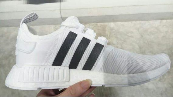 Sepatu Adidas Nmd white, black brown ORIGINAL