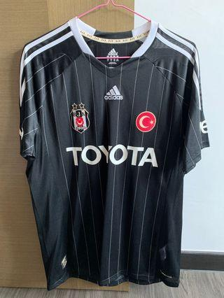 BRAND NEW WITH TAGS BESIKTAS ADIDAS SOCCER JERSEY XL