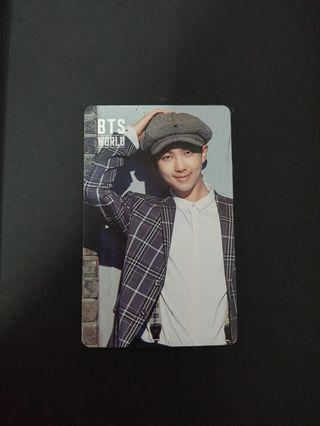 [Wts] bts world ost RM/rap monster double sided pc