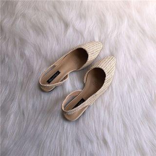 包頭編織鞋