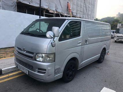 Toyota Hiace auto van for rent 1k