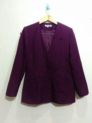 Bibi&baba, purple blazer