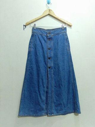 Zara,  Jeans Skirt