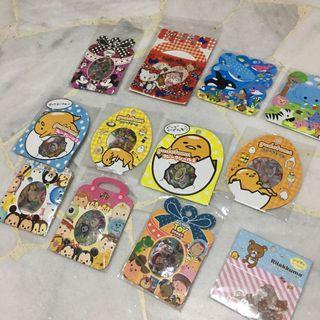 Stickers Tsum Tsum gudetama hello kitty animals mickey mouse toy story rilakuma