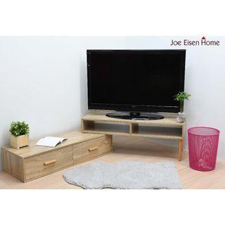 日系伸縮旋轉電視櫃 櫃子 電視架 視聽櫃 茶几桌 收納櫃 |