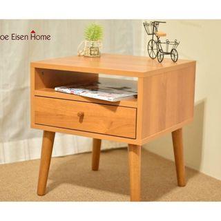 外銷日本小茶几 邊桌 床頭櫃 天然實木椅腳 喬艾森