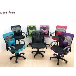 厚座高靠背網辦公椅(附腰墊)電腦椅 書桌椅 升降椅 會議椅 主管椅 工作椅 MIT台灣製 | 喬艾森
