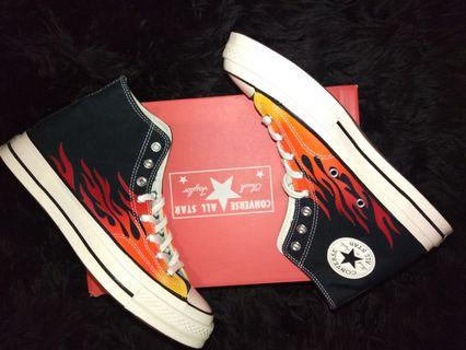 Converse CT 70s flames