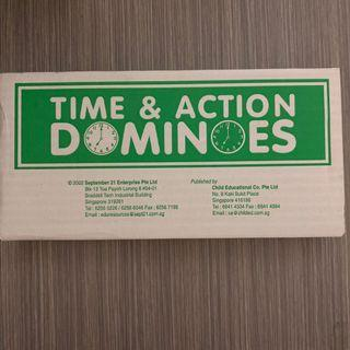 Time and Action Dominoes