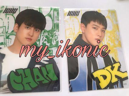 Clear Card iKON Chan & DK
