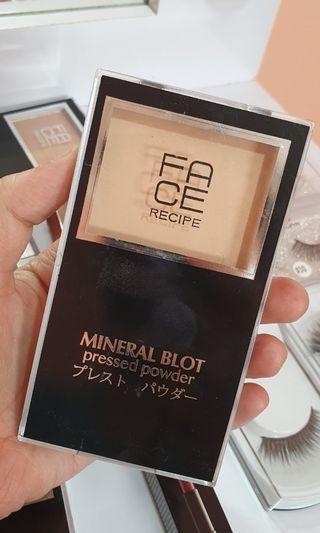 Face Recipe Mineral Blot Pressed Powder