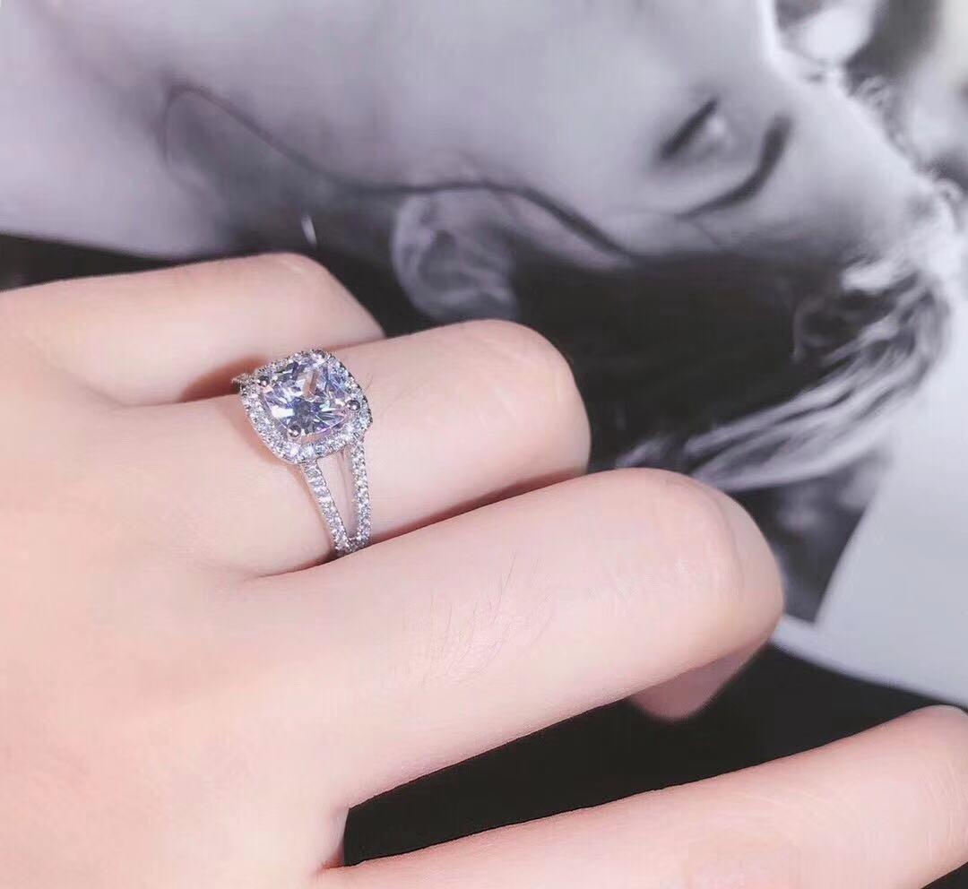 莫桑鑽戒指2.00ct(pt950)