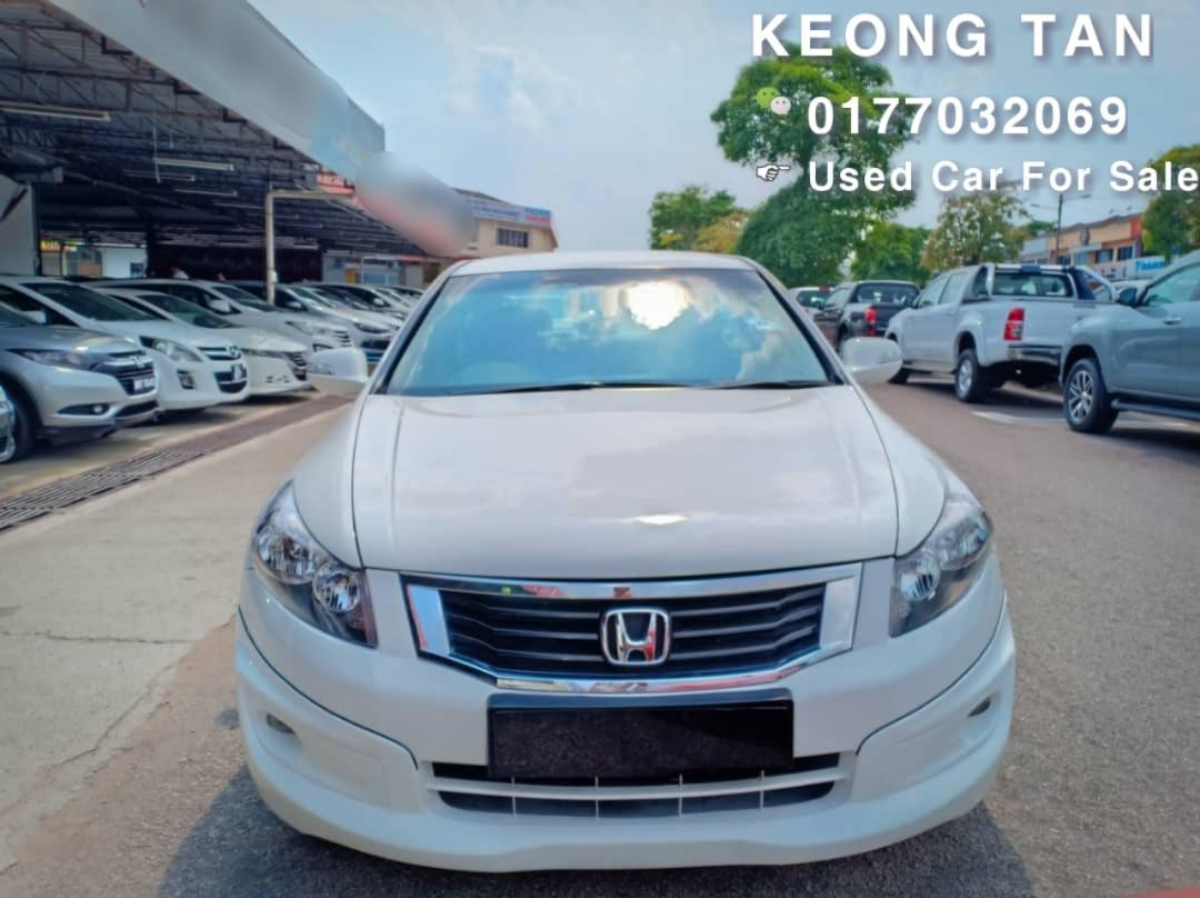 2010TH🚘HONDA ACCORD 2.0AT VTi-L Full Bodykit🎉Cash💰OfferPrice💲Rm46,800 Only‼Lowest Price InJB 🎉📲 Keong‼🤗