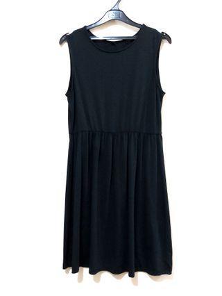 Black Dress Jersey Uniqlo