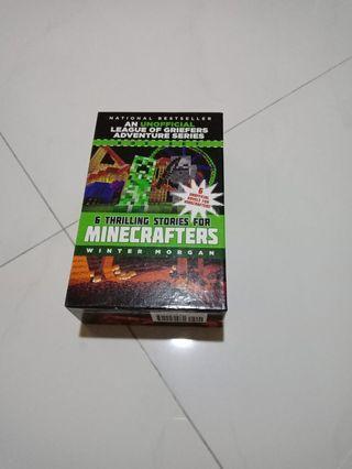 Minecraft story books