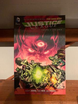 Justice League ComicBook The New 52