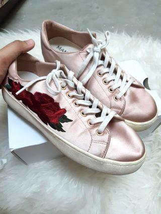 MANGO EMBROIDERY FLOWER SNEAKERS