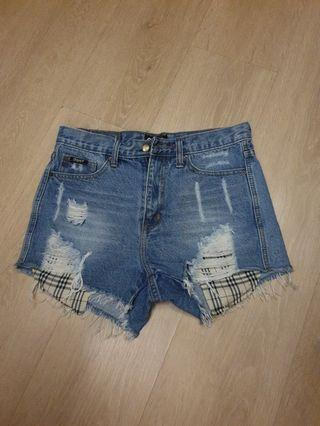 Ripped Denim Shorts from My Shop FB live
