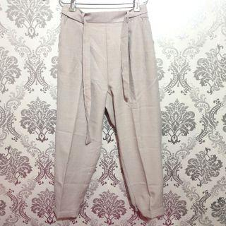 Highwaist Cream Pants with belt