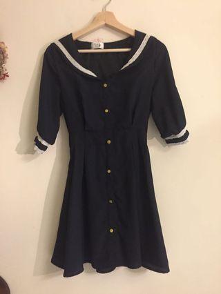 日系學院風洋裝❤️