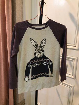 Sweater Rabbit Purple