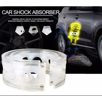 2Pc Car Shock Absorber Spring Bumper Power Auto-buffers B Type Springs Bumpers Cushion Urethane For Cars goods Buffer