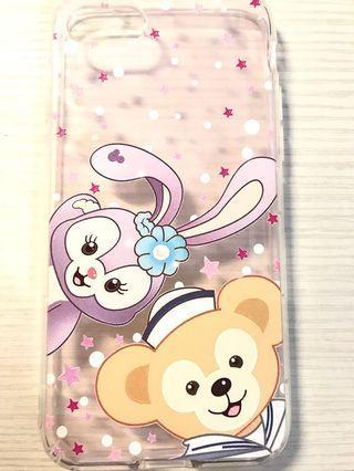 iphone7 4.7吋 全新未使用過 達菲熊軟質手機殼