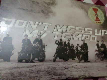 (SEALED) EXO DON'T MESS UP MY TEMPO ALBUM ( ANDANTE VER )