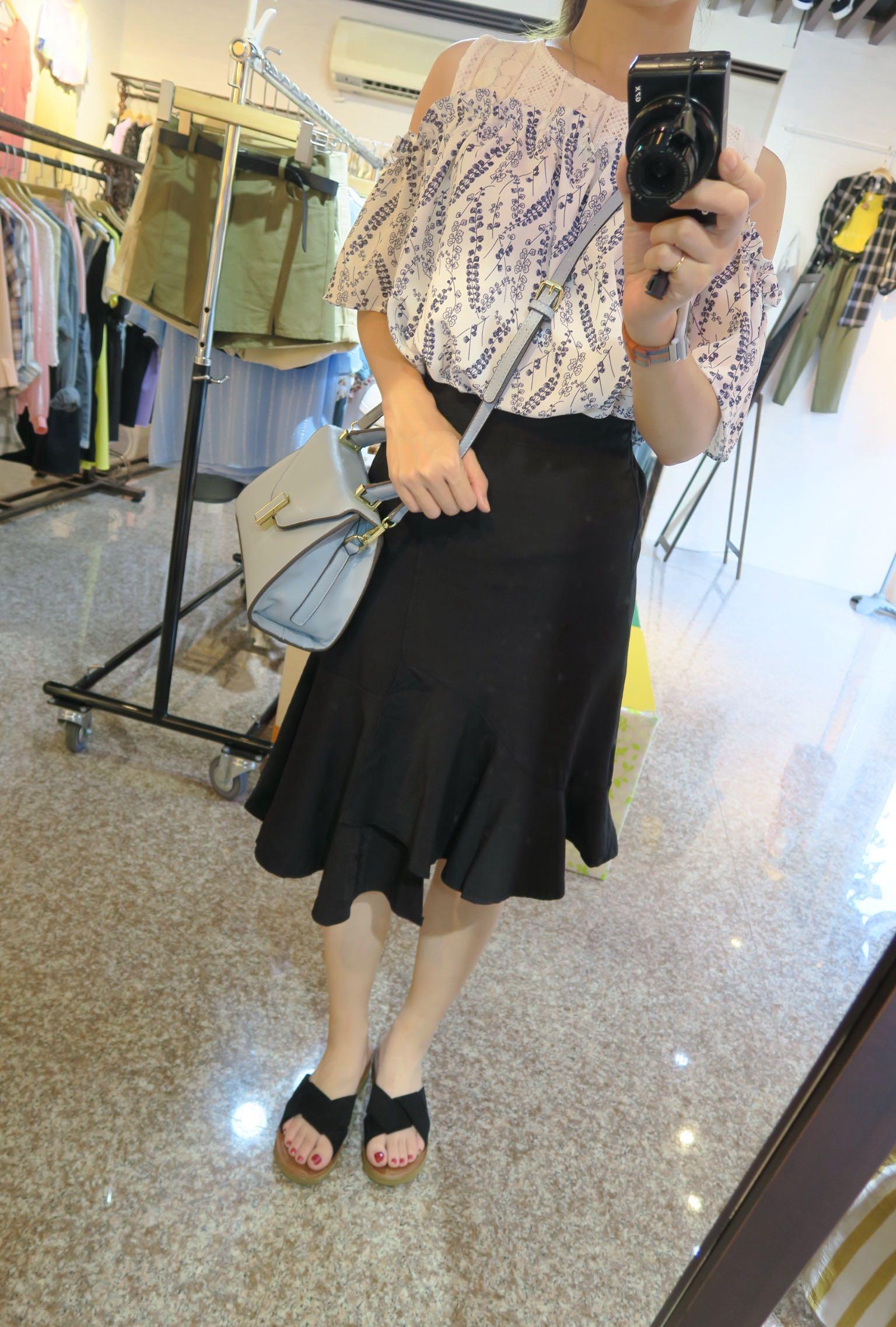 顯瘦魚尾裙