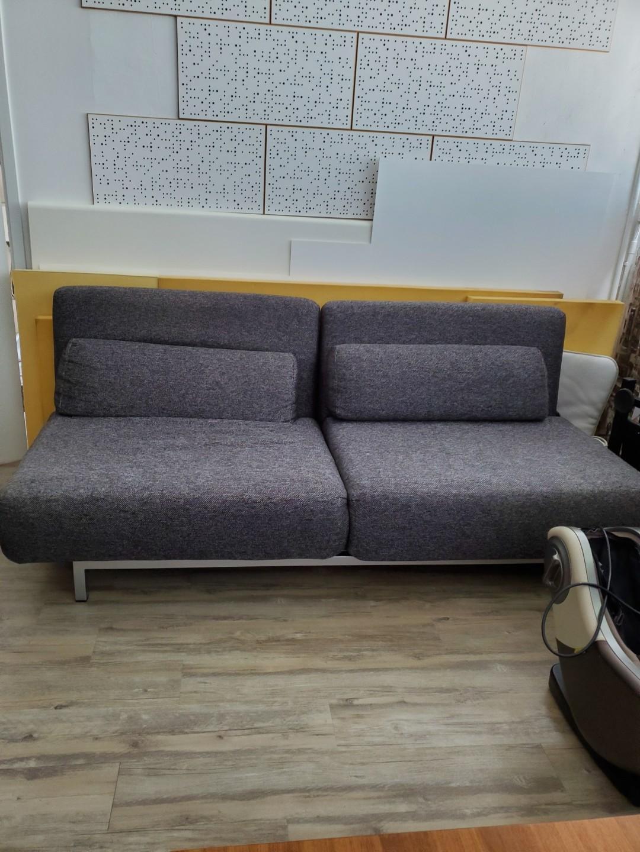 歐洲布藝梳化 , 可以變做梳化床 Sofa Bed