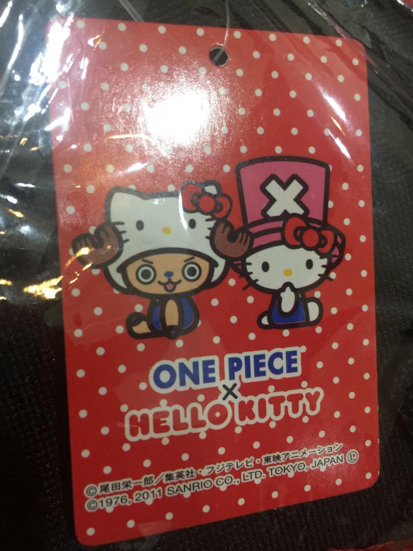 原裝日版 Sanrio Hello Kitty x One piece 海賊王系列 斜孭袋