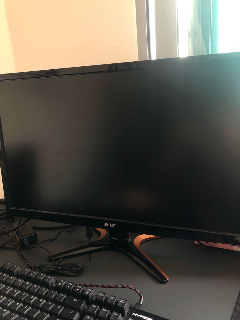 "Acer GN246HL 144hz 24"" TN panel, Electronics, Computer Parts"
