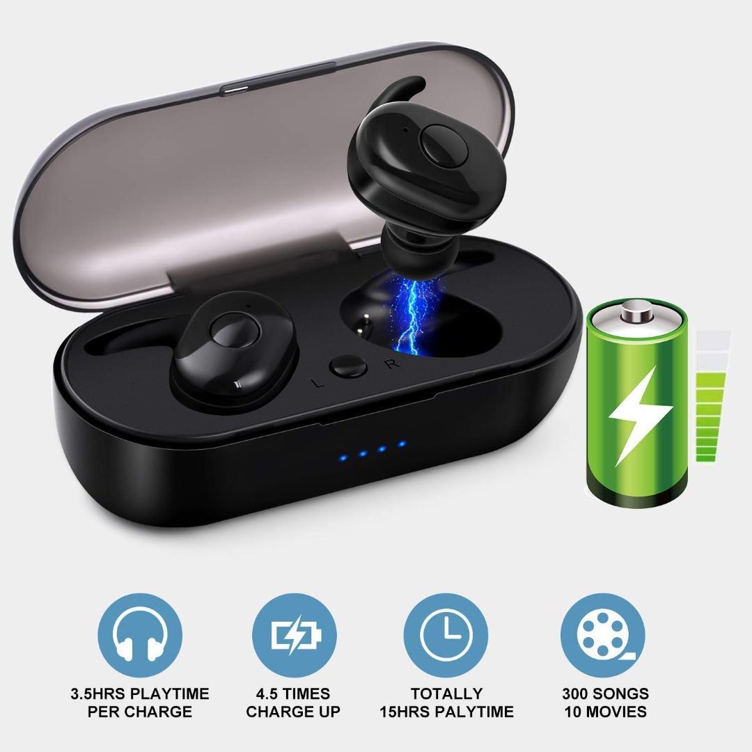 Bluetooth 5.0 Wireless Headphones Wireless Earbuds HILISI