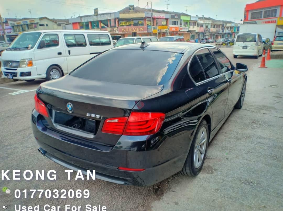 BMW F10 523i 2.5AT 2010TH Cash💰OTR OfferPrice💲Rm79,800 Only‼ Lowest Price InJB 🎉📲 Keong‼🤗